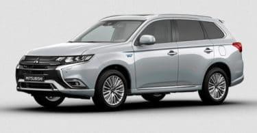 Informations sur la motorisation hybride rechargeable de Mitsubishi