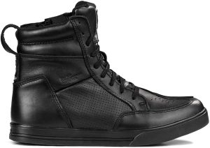 chaussures moto cuir